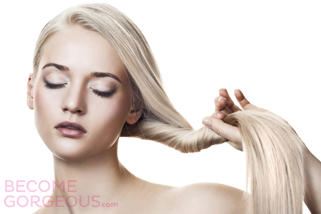 Bleached Blonde Hair Care