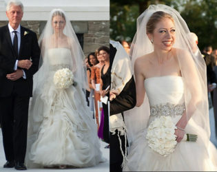 Chelsea Clinton Wedding Dress