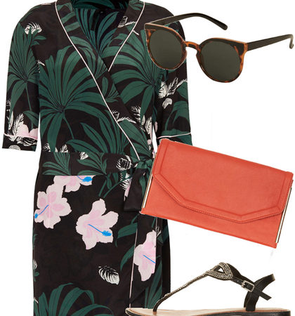 Chic Flip Flops Outfit