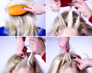 How To Do Upside Down French Braiding