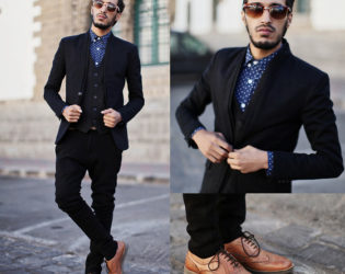Men's Outfit With Brown Shoes