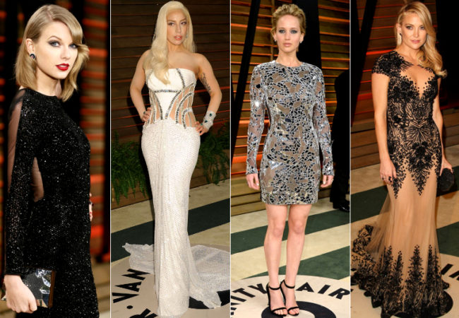 Oscars After Party 2014 Best Dressed Celebrities