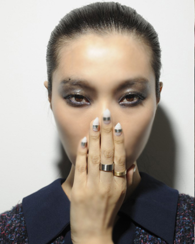 Pointy Nail Trends Spring 2014