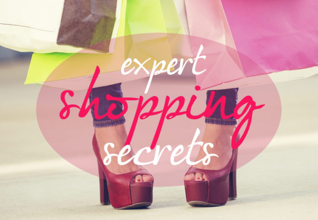 Shopping Secrets of the Pros