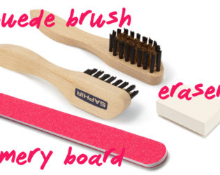 Suede Cleaning Tools