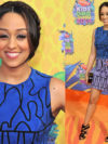 Tia Mowry Kids Choice 2014 Dress