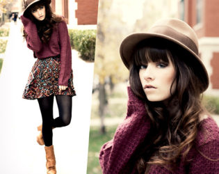 Vintage Hat Outfit