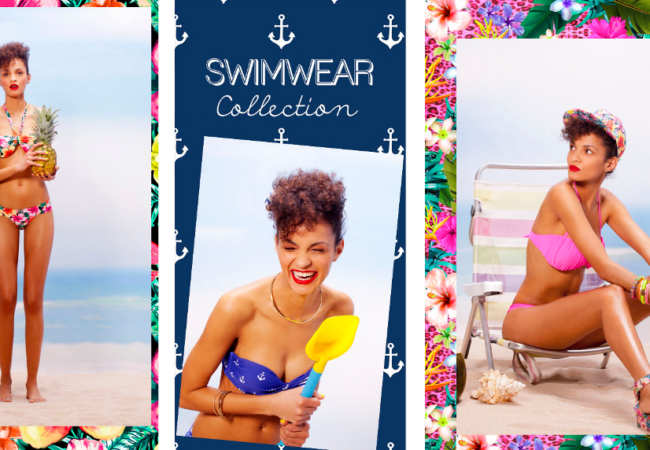 Bershka Swimwear for Spring/Summer 2014