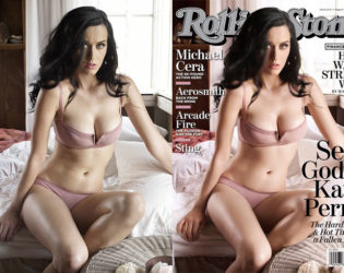 Katy Perry Photoshopped Rolling Stone Cover