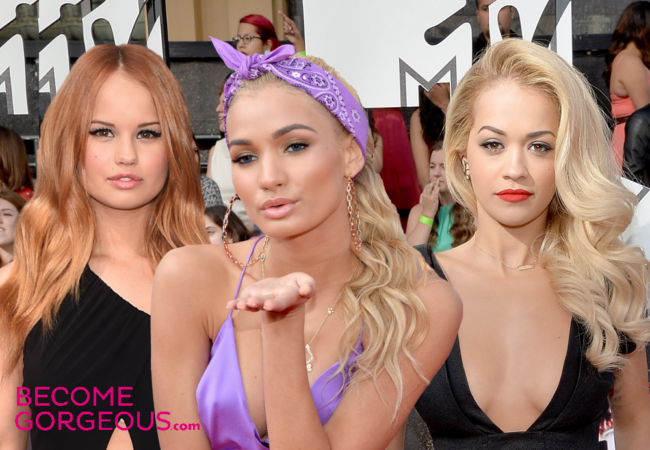 MTV Movie Awards 2014 Hairstyles and Makeup Looks