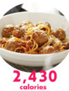 Macaroni Grill Spaghetti And Meatballs With Meat Sauce