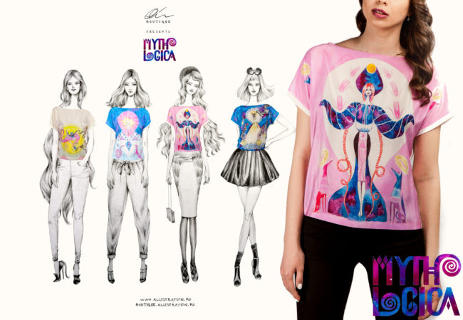 Mythologica Tees Collection by Alice