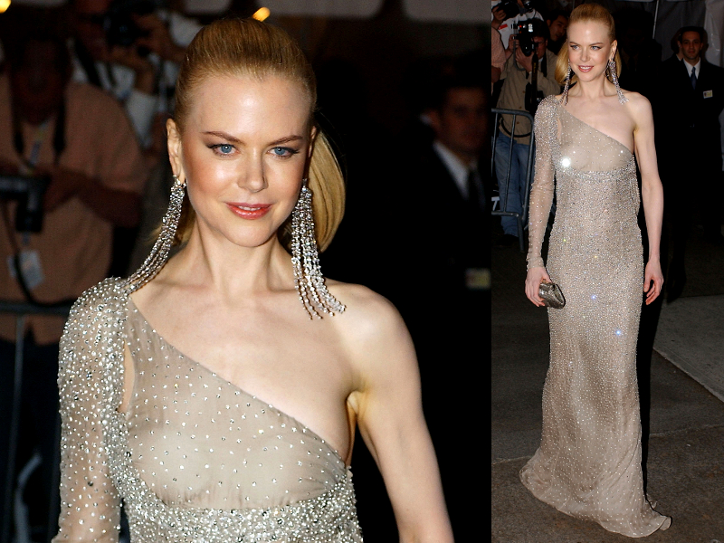 Nicole Kidman Gucci By Tom Ford Dress