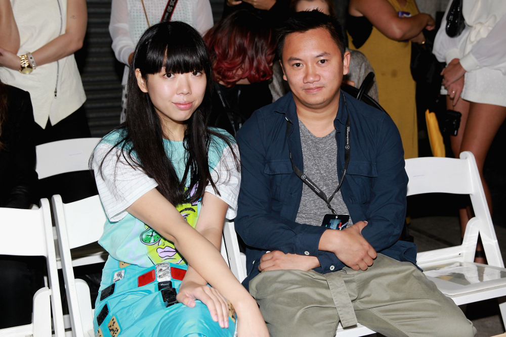 Susie Bubble And Tommy Ton At 2014 Fashion Week