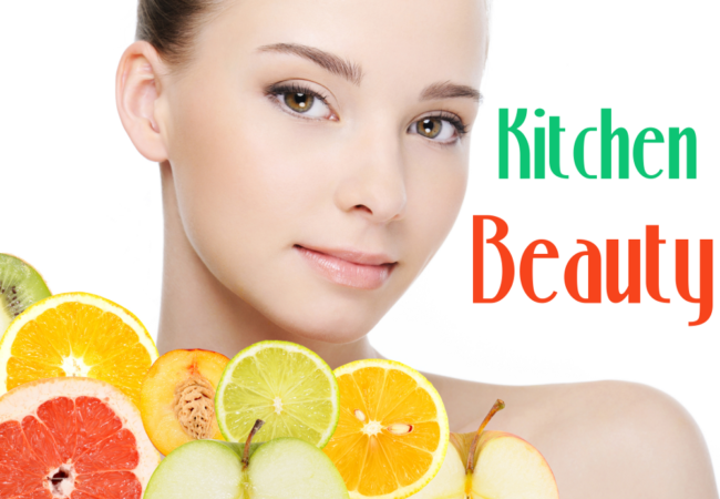 Beauty Secrets Using Natural Ingredients From Your Kitchen