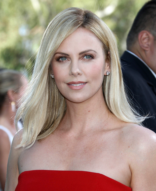 Pictures Female Celebrities Who Shaved Their Heads Charlize Theron Long Hair