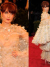 Florence Welch In Alexander Mcqueen Dress