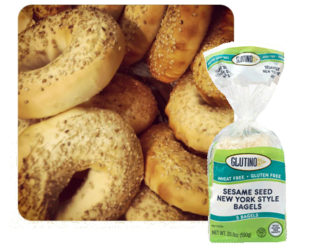Glutino Sesame Seed New York Style Bagel