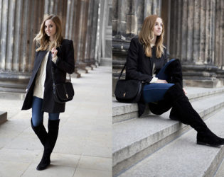 Jeans With Over The Knee Boots