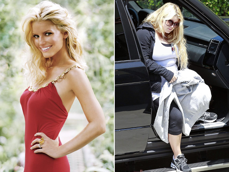 Pictures : Most Shocking Celebrity Weight Gains - Jessica ...