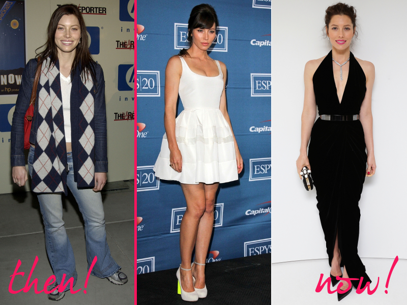 Jessica Biel Old And New Style