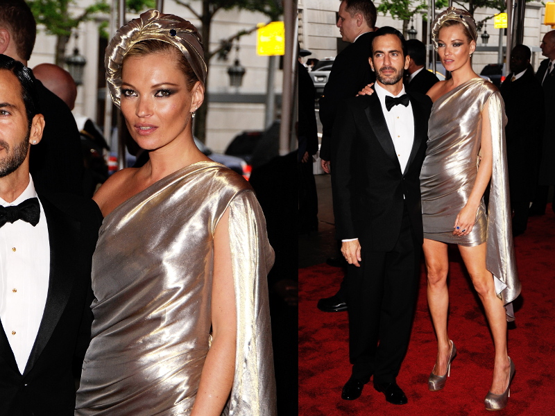 Kate Moss In Marc Jacobs Dress