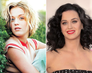 Katy Perry Natural Blonde Hair Color