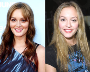 Leighton Meester Natural Blonde Hair Color