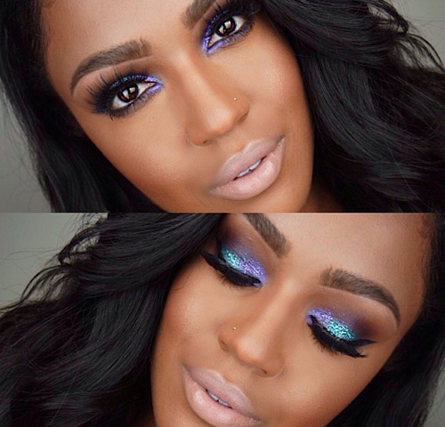 Mermaid Like Eye Makeup