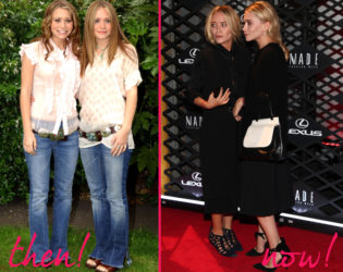 Olsen Twins Old And New Style