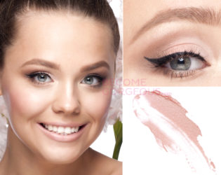Prom Makeup Soft Cat Eyes