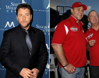 Russell Crowe Weight Gain
