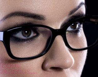 Smokey Eyes For Glasses Wearers