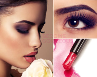 Sultry Lashes Prom Makeup