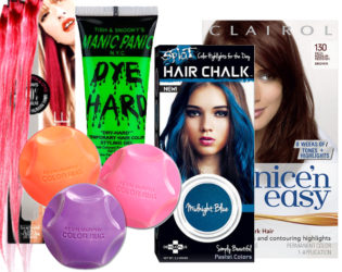 Temporary Hair Coloring Products