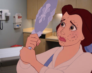 Belle Disney Unhappily Ever After