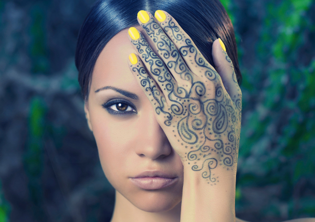Henna Body Paintings and Henna Tattoos