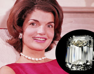 Jacqueline Kennedy Engagement Ring From Aristotle Onassis
