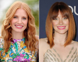 Jessica Chastain And Bryce Dallas Howard Look Alike