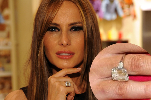 Melania Knauss Engagement Ring From Donald Trump