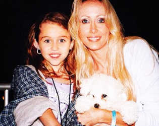 Miley Cyrus Mother's Day Pic