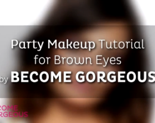Party Makeup For Brown Eyes   Become Gorgeous