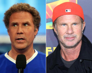 Will Ferrell And Chad Smith Look Alike