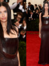 Adriana Lima Dress Met Ball 2014