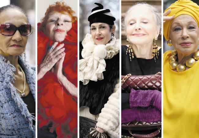 Meet NYC's Most Stylish Women Aged 60 to 95