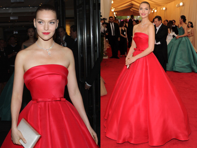 Arizona Muse Gown Met Ball 2014