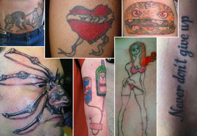 Worst Tattoo Designs Ever