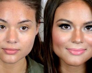Beore And After Contour And Highlight