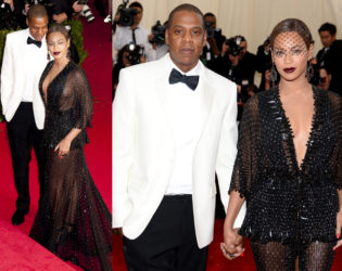 Beyonce And Jay Z 2014 Met Ball