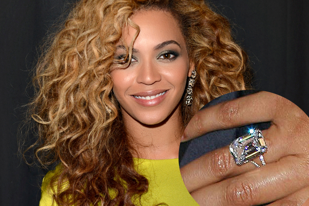 Beyonce Engagement Ring From Jay Z